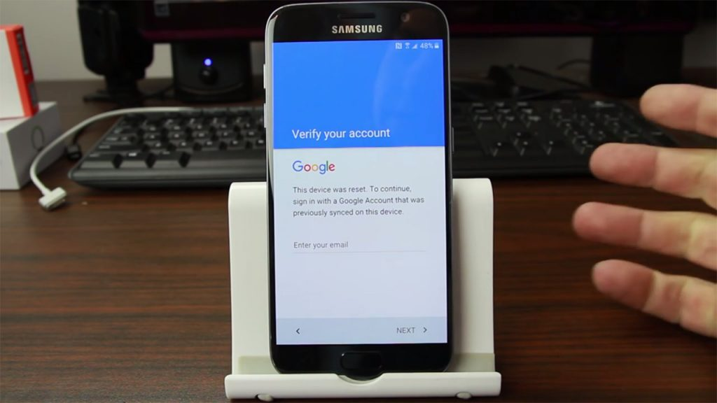 how to change google account password using android phone