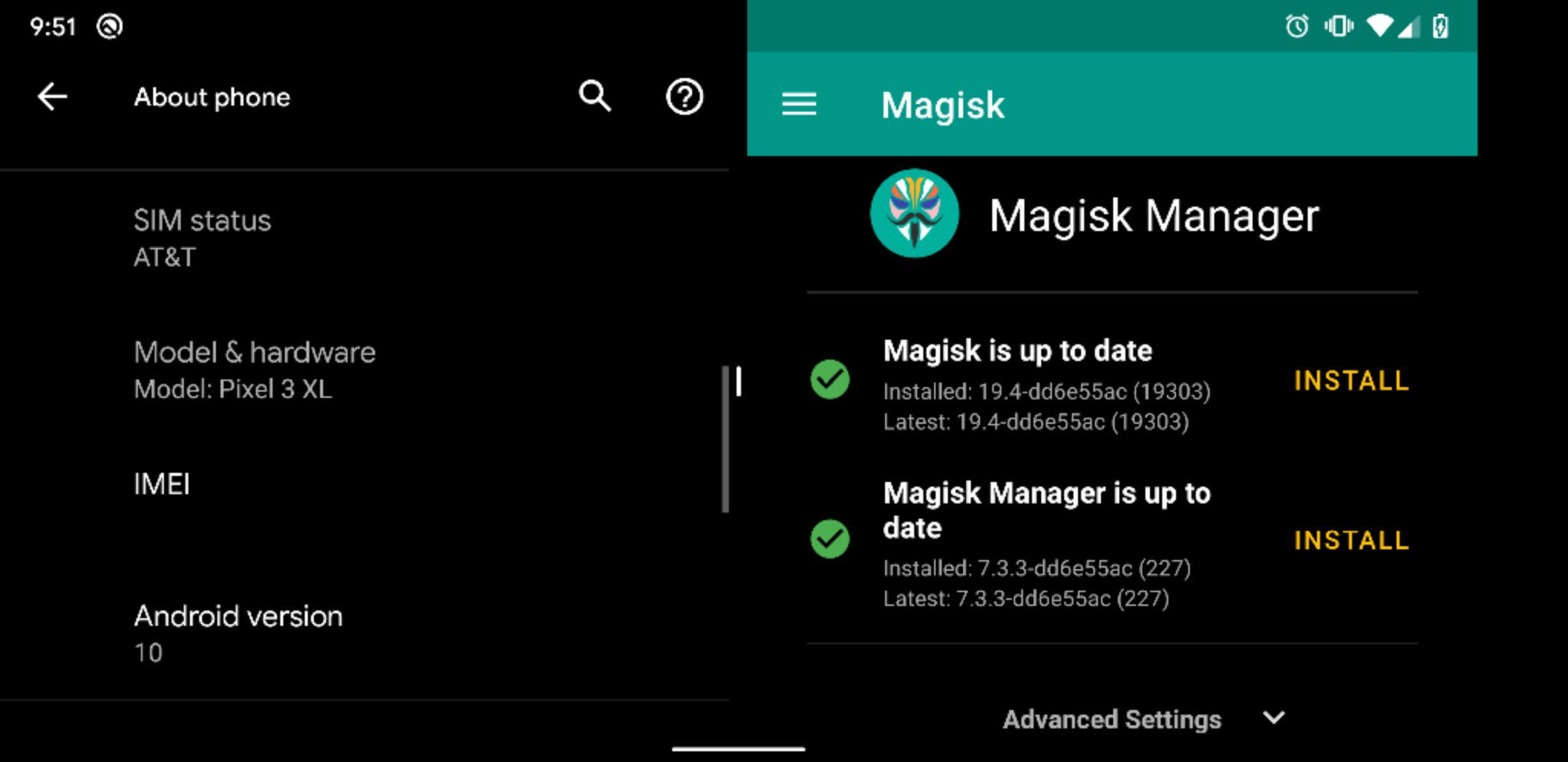 Magisk Manager - Hide Your Root Status From Safety Net and